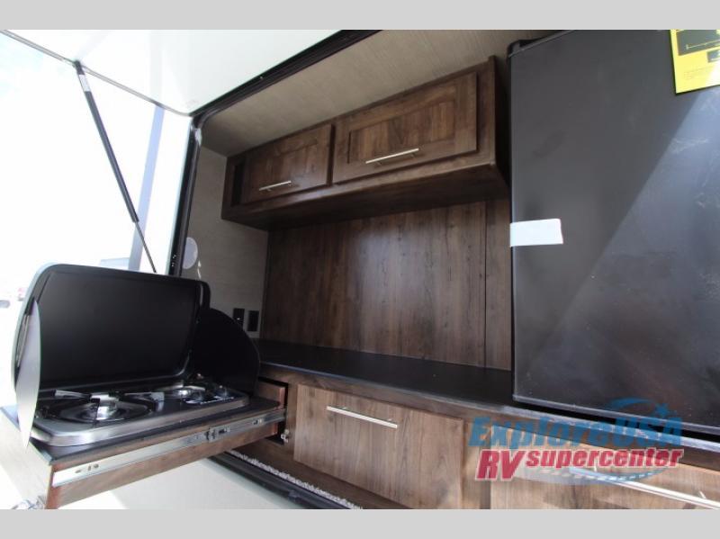 Cruiser Radiance Travel Trailer Bunkhouse RVs Outside Kitchen