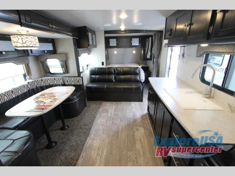 Heartland North Trail  Review 22FBS Travel Trailer Interior