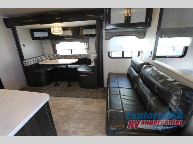 Heartland North Trail  Review 22FBS Travel Trailer Seating