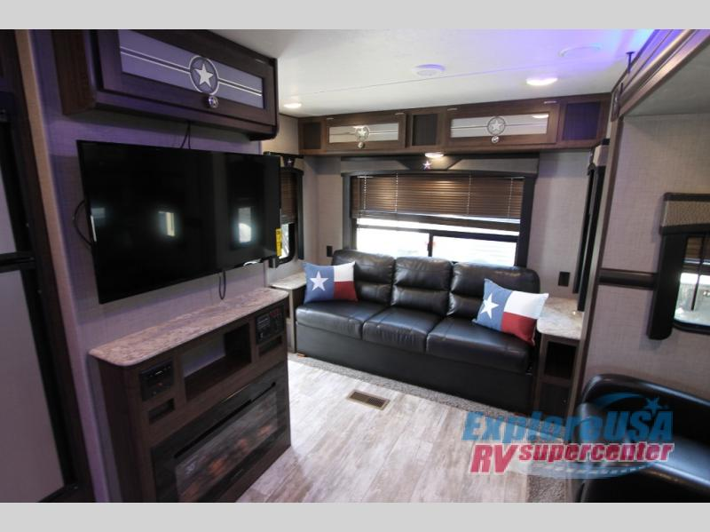 Crossroads Longhorn 285RL Review Travel Trailers Rear Living ExploreUSA RV