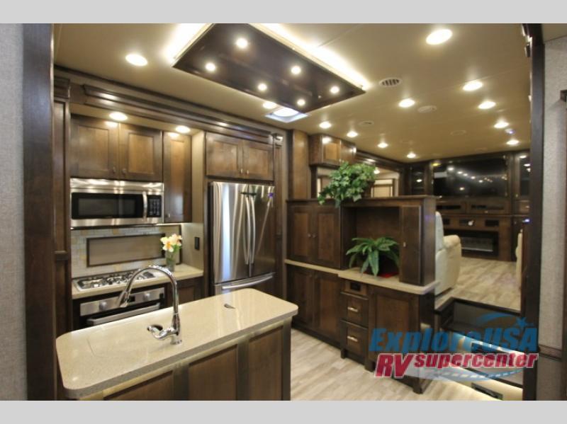 RV Guest House For Christmas ExploreUSA RV Kitchen