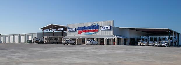 Houston RV Show Deals ExploreUSA RV In Alvin Texas Store Front